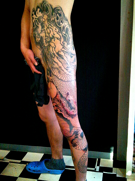 Fukuoka tattoo tatoo 福岡 タトゥー キングオブステロー Kingofsteloo